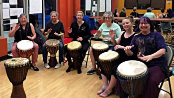 Permalink to: West African Percussion Classes